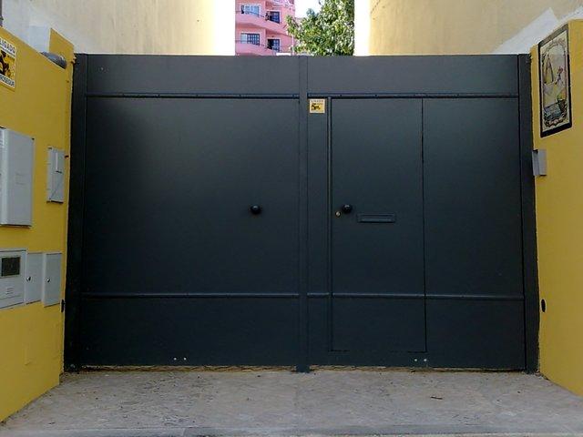 Instalar portões de batente